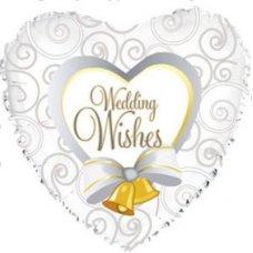 Wedding Wishes Bells (214552) Heart P1