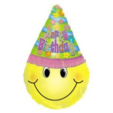 SPECIAL! HBD Smiley Face in Hat 30