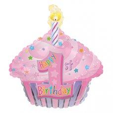 1st Birthday Cupcake Pink 22