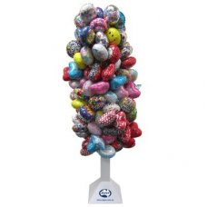 Foil Balloon Tree Stand for 128 Air Filled Foils Stand