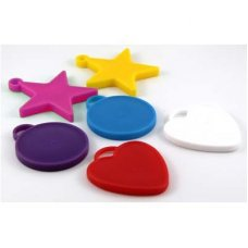 Single Balloon Weights Asstd Shapes & Colours 12gm Bag 100