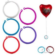 Bangle Single Balloon Weights Asstd Colours 10gm Bag 100