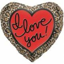 SPECIAL ! Leopard Love (00615-01) Shaped P1