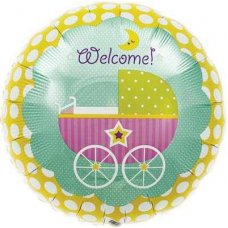 SPECIAL ! Welcome Baby Buggy (00162-162) Round P1