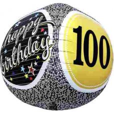 100th Birthday 3D Sphere (01158-01) Sphere P1