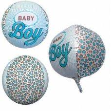 Baby Boy 3D Sphere (01027-01) Sphere P1