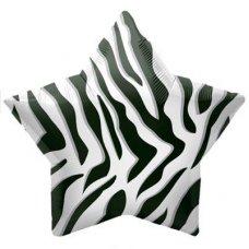 Black Zebra Stripe Star 22