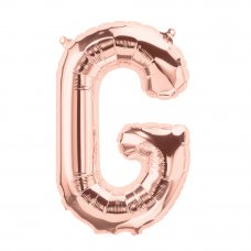 Rose Gold 16in Letter G (01343-01) 16inch Air fill Shaped P1