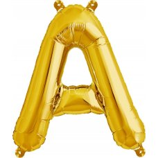 Gold Letter A (00567-01) 16 inch for Air filling Shaped P1