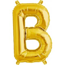 Gold Letter B (00568-01) 16 inch for Air filling Shaped P1