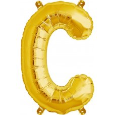 Gold 16in Letter C (00569-01) 16 inch for Air fill Shaped P1