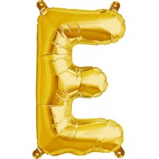 Gold 16in Letter E (00571-01) 16 inch for Air fill Shaped P1