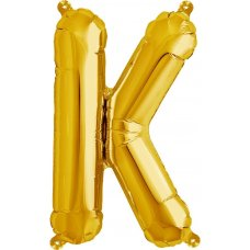 Gold 16in Letter K (00577-01) 16 inch for Air fill Shaped P1