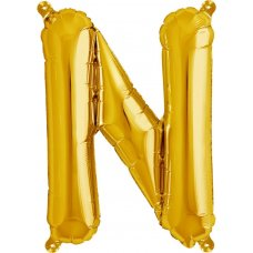 Gold 16in Letter N (00580-01) 16 inch for Air fill Shaped P1