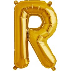 Gold 16in Letter R (00584-01) 16 inch for Air fill Shaped P1
