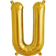 Gold Letter U (00587-01) 16 inch for Air filling Shaped P1