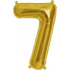 Gold 16in Number 7 (00564-01) Shaped P1