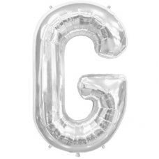 Silver 34in Letter G (00202-202) Shaped P1