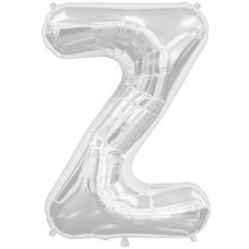 Silver 34in Letter Z (00221-221) Shaped P1