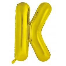 34inch Decrotex Foil Balloon Alphabet Gold #K Shaped P1