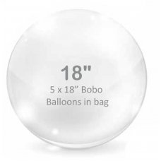 BOBO Clear Balloon 18inch P5