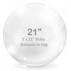 BOBO Clear Balloon 21inch P5