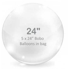BOBO Clear Balloon 24