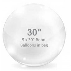 BOBO Clear Balloon 30