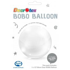 BOBO Clear Balloon 12inch P1