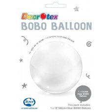 BOBO Clear Balloon 18inch P1