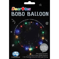 BOBO Clear Balloon 18in+3m Color LED Light String P1
