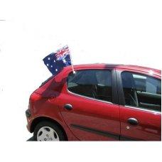 Australian Flag Car Flag 50 x 25cm P1