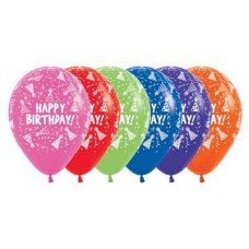 Happy Birthday Hats (Met 512 515 531 540 551 561) 30cm Bag50