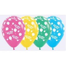 Happy Balloon Get Well (012 020 030 040) 30cm Bag50