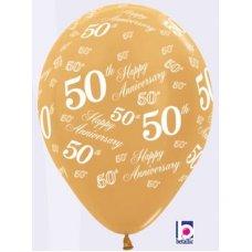 50th Anniversary (Metallic) (569) 30cm Bag50