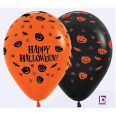 Happy Halloween Batty  (061 080) Sempertex 30cm Bag50