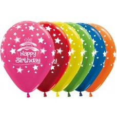 Happy Birthday Cake Met 512 515 520 531 540 561 30cm Bag50