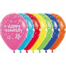 Happy Anniversary Std 012 015 020 031 038 041 061 30cm Bag50