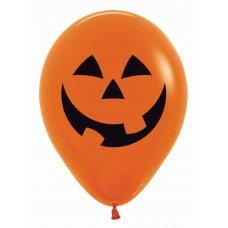 Pumpkin 2 Sided Print Fash Orange 061 Sempertex 30cm Bag50