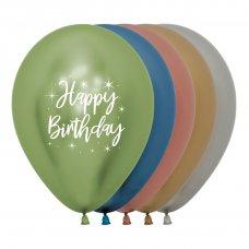 Happy Birthday Radiant Reflex Astd Sempertex 30cm Bag50