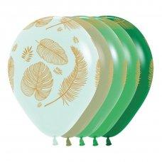 Tropical Leaves Astd Fashion Pastel Matt Sempertex Bag 50