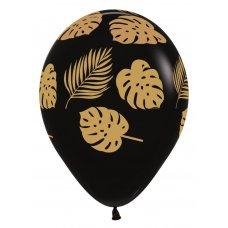 Leaves Fashion Black (080) Sempertex Bag 50