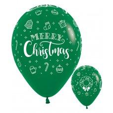 Merry Christmas Wreath Fashion Green 032 Sempertex Bag 50