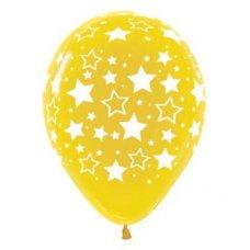 Bold Stars 90cm Crystal Yellow 320 Sempertex P1