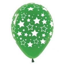 Bold Stars 90cm Crystal Green 330 Sempertex P1