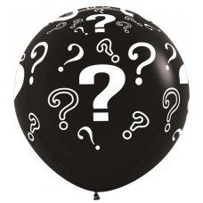 Question Marks 90cm Standard Black (080) Sempertex P3