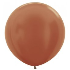 Metallic Copper (573) 60cm Sempertex Balloons P3