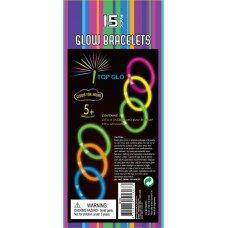 Glow Bracelets 8in Tube 15