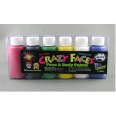 Primary Assorted Colours Face Paint 60ml
