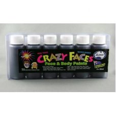 Black Face Paint 60ml